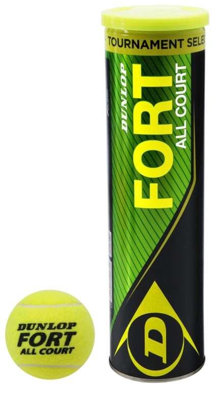 Dunlop Fort All Court Tennis Balls Tennisbälle (4er Pack) für 5,84€ inkl. Versand (statt 11€)