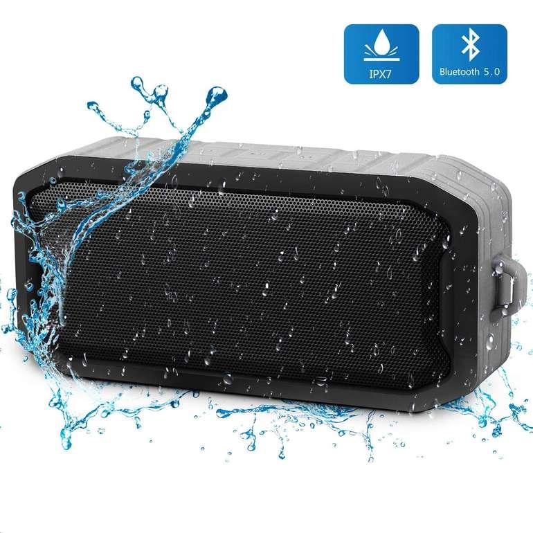 Mbuynow wasserdichter Bluetooth Lautsprecher in 2 Farben für je 9,99€ (Prime)