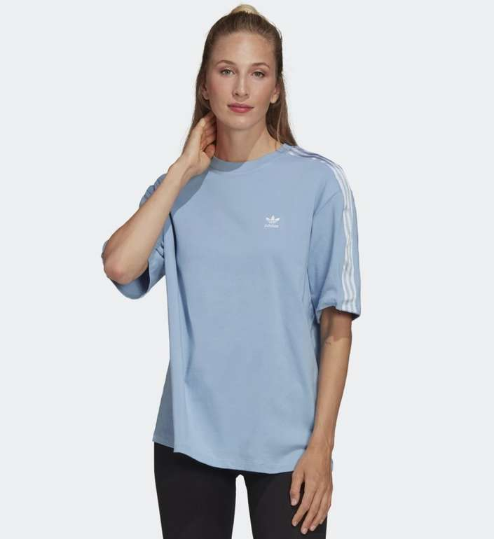 Adidas Adicolor Classics Satin Tape Damen T-Shirt für 24,50€ inkl. Versand (statt 30€) - Creators Club