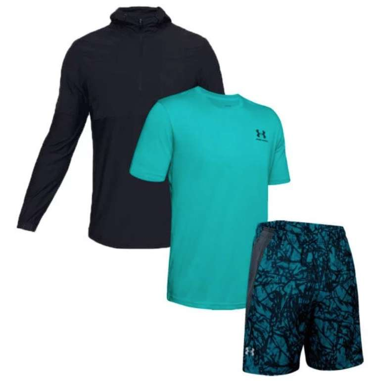 3-tlg. Under Armour Vanish Set (Hoody, Shirt und Shorts) für 64,95€ (statt 80€)