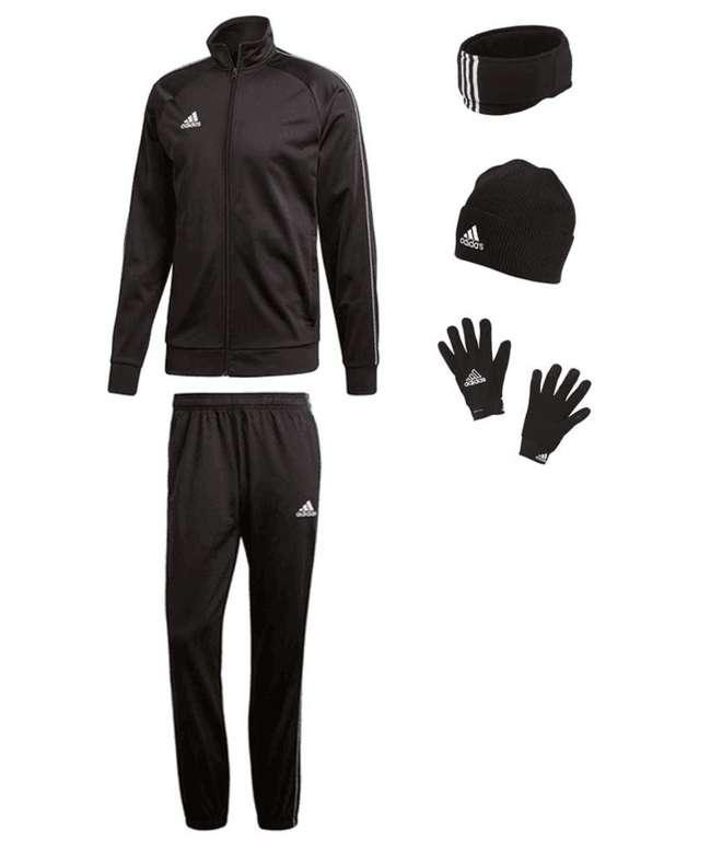 5-tlg. Adidas Winterset (Jacke, Hose, Mütze, Schal und Handschuhe) für 57,95€ (statt 79€)