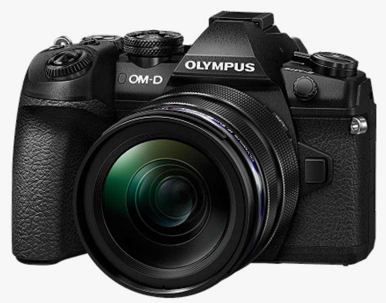 Olympus OM-D E-M1 Mark II Kit Systemkamera (20.4 MP, 5-Achsen Bildstabilisator) für 1.199€ (statt 1.489€)