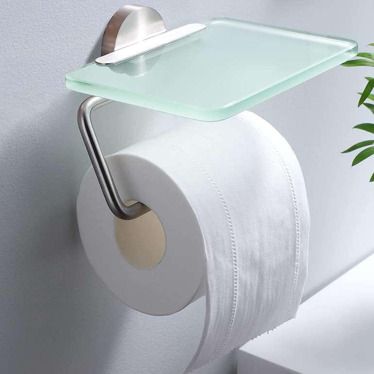 Ruicer Toilettenpapierhalter mit Ablage für 12,49€ inkl. Prime Versand (statt 20€)