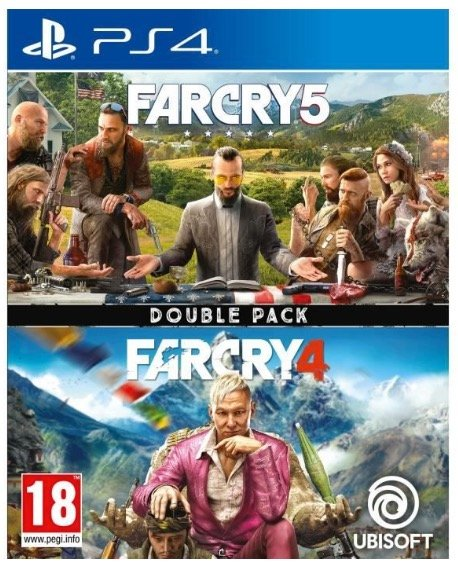 Far Cry 5 + Far Cry 4 Double Pack (PS4) für 19,11€ (statt 24€)