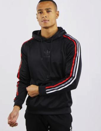 adidas Chile 20 Over The Head Herren Hoodie in schwarz für 39,98€inkl. Versand (statt 50€)
