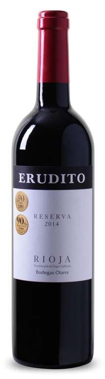 6 Flaschen Erudito Reserva Rioja DOC für 49,05€ inkl. Versand