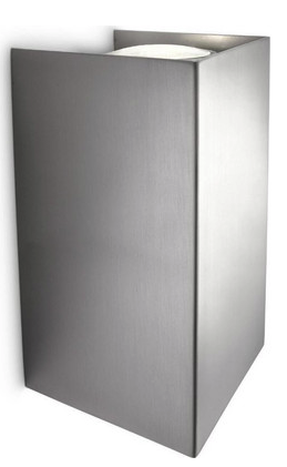 2x Philips Gabardine Wandleuchte (2x 50 Watt, 230 V) für 25,90€ inkl. Versand (statt 52€)