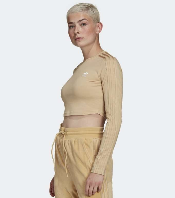 Adidas Loungewear Cropped Longsleeve in 2 Farben für je 17,85€ (statt 21€) - Creators Club
