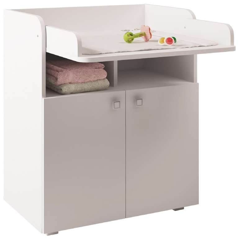 Polini Kids Wickelkommode Simple 1270 in weiß für 50,59€ (statt 95€)