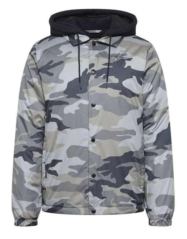 Hollister Herren Jacke in Marine / Camouflage für 37,03€ inkl. Versand (statt 53€)