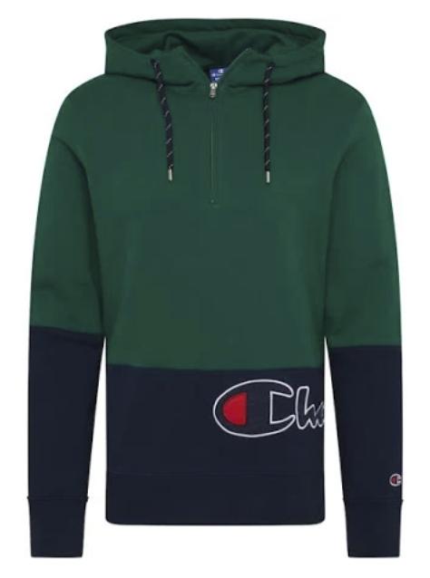 Champion Authentic Athletic Apparel Sweatshirt in navy / tanne für 24,95€ inkl. Versand (statt 50€)