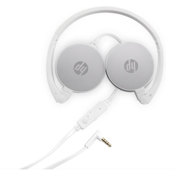 HP H2800 Headset in weiß für 10€ inkl. Versand (statt 14€)