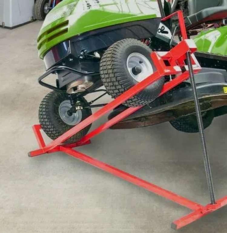 Arebos Rasentraktor 400 kg Hebevorrichtung für 57,90€inkl. Versand (statt 77€)