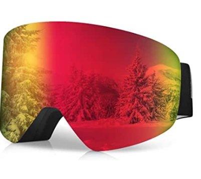 Runacc Unisex Skibrille mit UV-Schutz & Antibeschlag für 10,95€ inkl. Versand (statt 37€)