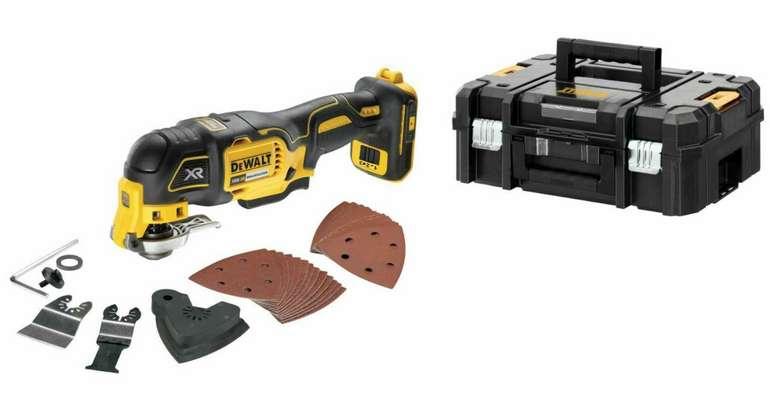 Dewalt DCS356NT Akku-Multi-Tool 18 V Solo + Zubehör-Set in T-Stak-Box für 134,10€ inkl. Versand (statt 155€)