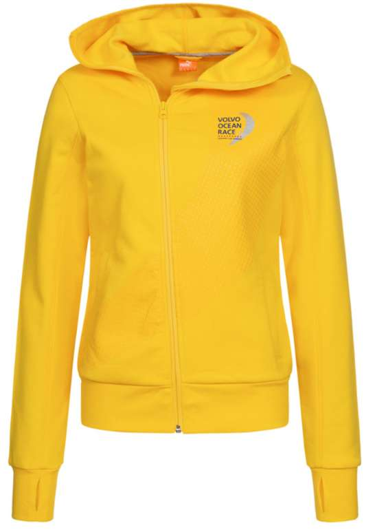 "Puma ""Volvo Ocean Race"" Damen Fleecejacke in gelb für 20,94€inkl. Versand (statt 28€)"
