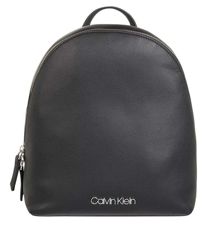 Calvin Klein Rucksack in Leder-Optik in Schwarz für 47,99€inkl. Versand (statt 84€)