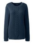 Lands' End Sale mit bis 65% Rabatt + 30% Extra - z.B. Baumwoll Pullover für 16€