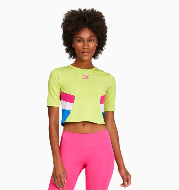 Puma TFS Retro kurzes Damen Shirt für 14,36€ inkl. Versand (statt 18€)