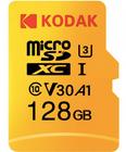 Kodak High Speed U3 A1 V30 TF 4K 128GB microSD Speicherkarte für 18,70€