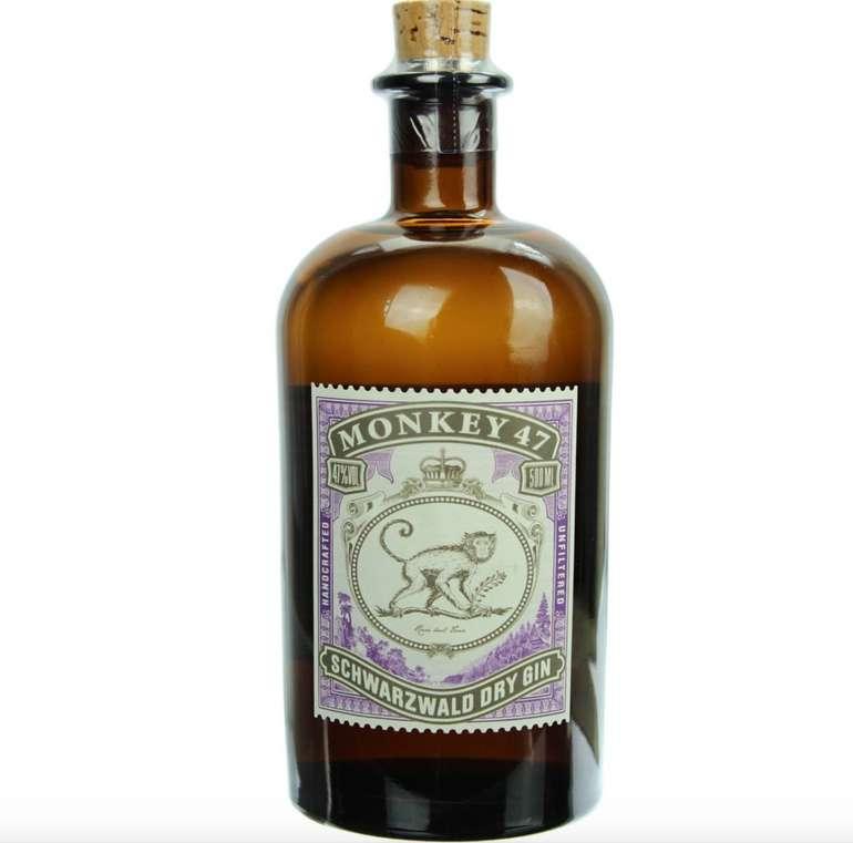Monkey 47 Schwarzwald Dry Gin für 24,40€ inkl. Versand (statt 30€) - PayDirekt!
