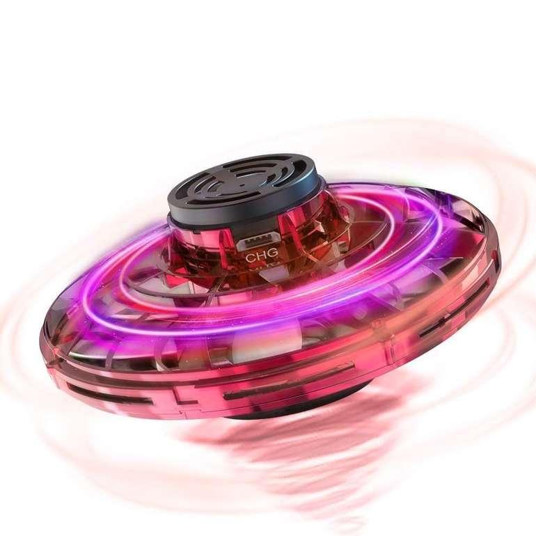Hisome FlyNova - handbetriebene Mini Drohne mit LED Beleuchtung für 19,99€ inkl. Prime Versand (statt 30€)