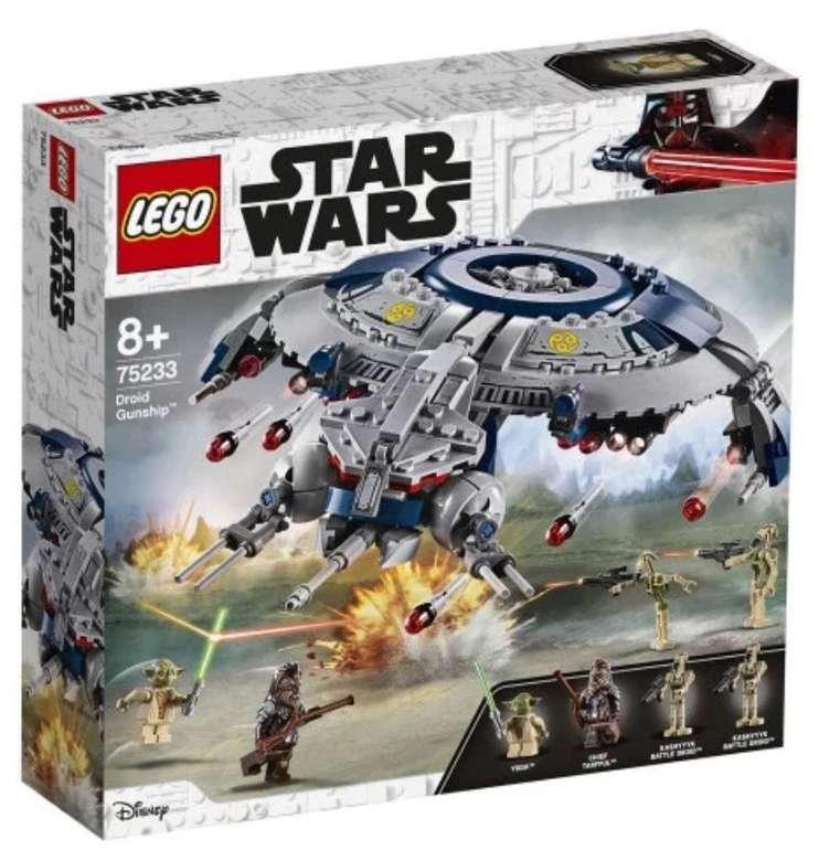 Lego Star Wars - Droid Gunship (75233) für 40,79€ inkl. Versand (statt 56€)