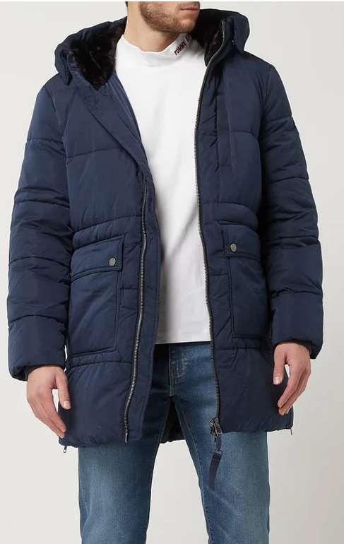 Tommy Jeans Parka mit Wattierung in Marineblau für 174,79€ inkl. Versand (statt 280€)