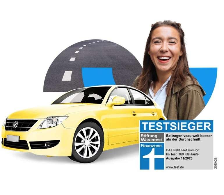 DA direkt Kfz-Versicherung mit 10% Aktionsrabatt + bis zu 30€ Amazon.de Gutschein