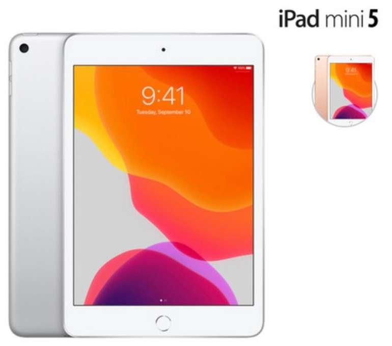 Apple iPad Mini 5 mit 64GB Speicher (WiFi) in silber oder gold für je 355,90€ inkl. Versand (statt 386€)