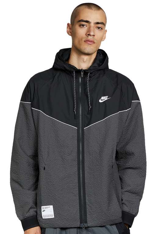 Nike Sportswear Herren Jacke in Iron Grey / Black für 48,97€ inkl. Versand (statt 72€)