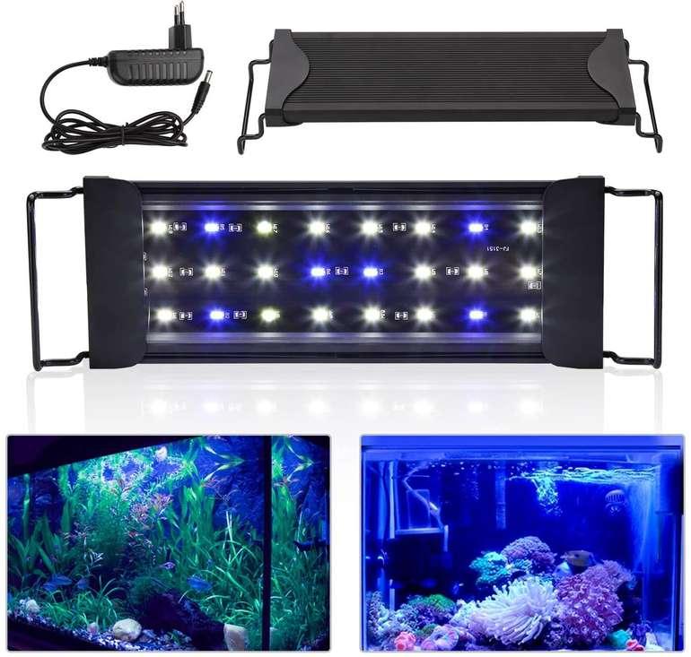 Wolketon LED Aquarium Beleuchtung reduziert, z.B. 30-50 cm für 13,71€ inkl. Prime Versand