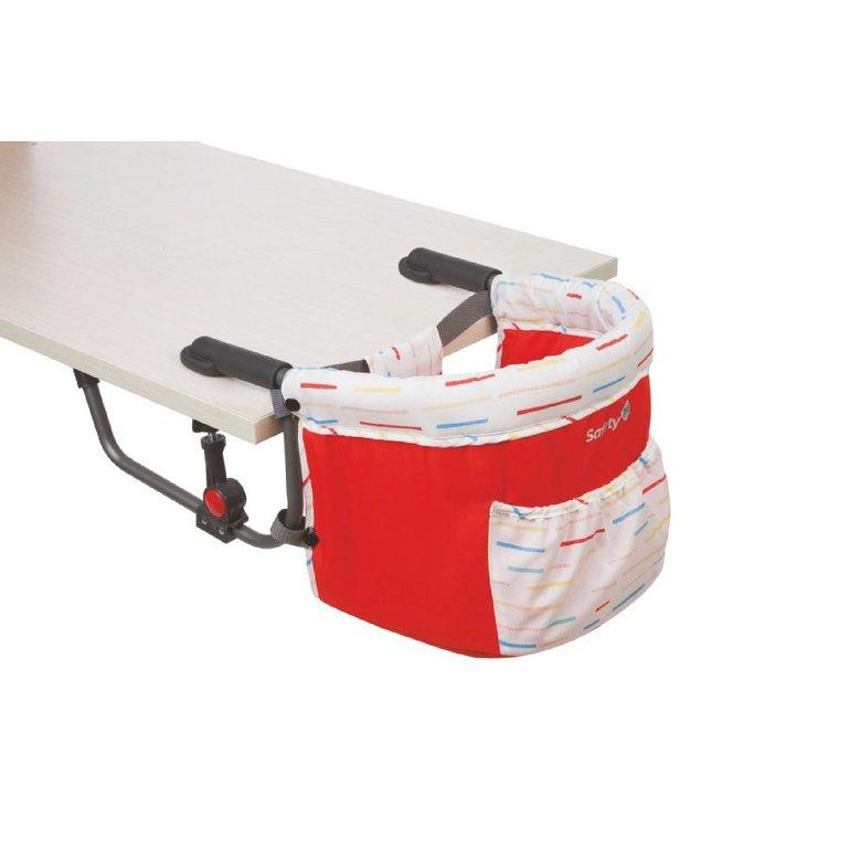 Safety 1st Baby Tischklemmstuhl Smart Lunch 'Red Lines' für 24,99€ inkl. Versand