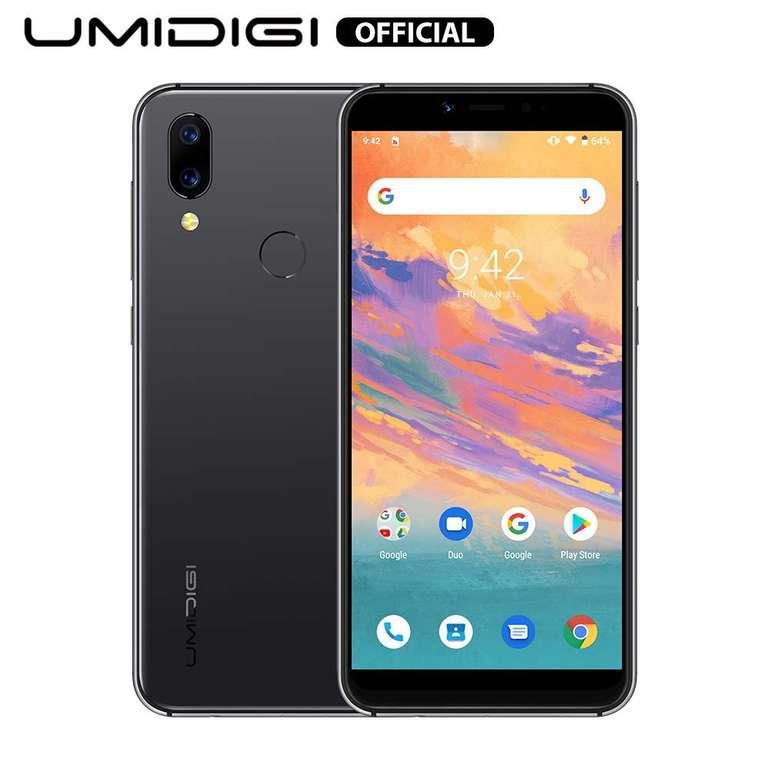"Umidigi A3S - 5,7"" Android Smartphone (HD+, 2GB RAM, 16 GB Speicher) in 2 Farben für je 62,99€"