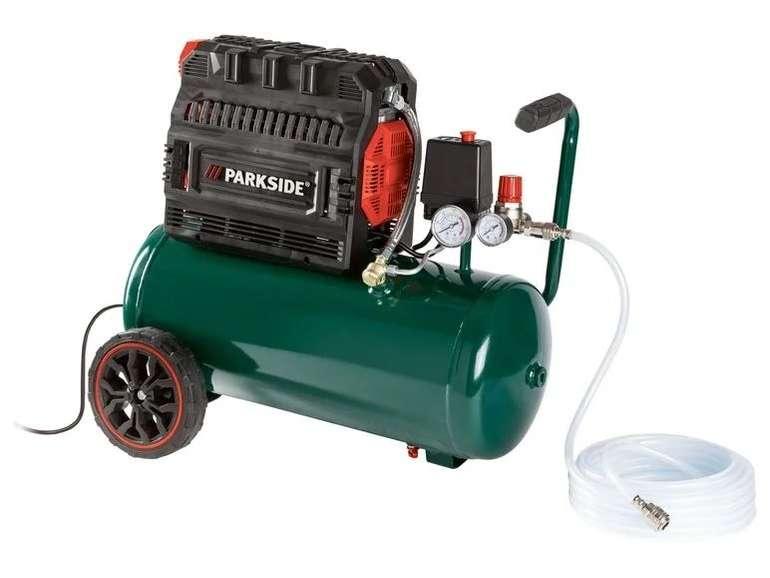 "Parkside Silent Kompressor ""PSKO 24"" (24 Liter Kesselvolumen) für 153,95€ inkl. Versand"