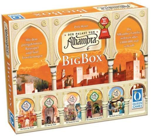 """Spiel """"Alhambra"""" Big Box (Spiel des Jahres 2003) für 35,18€ inkl. Versand (statt 46€)"""