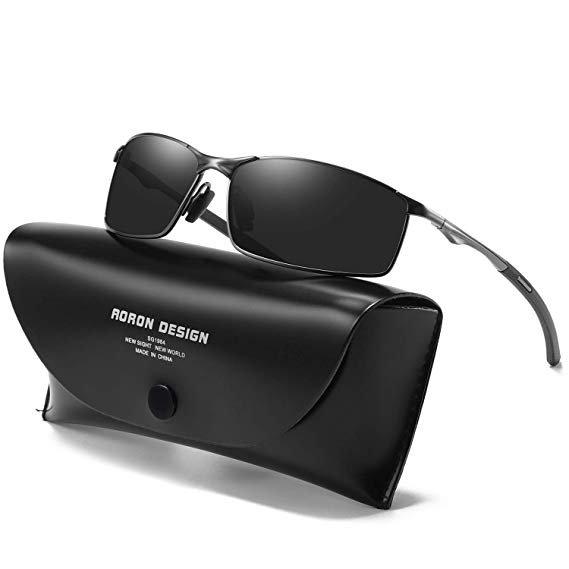 Aoron Polarisierte Herren Sonnenbrille mit UV Schutz für 8,79€ (Prime)