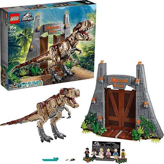Lego Jurassic World - Jurassic Park T. Rex Verwüstung 75936