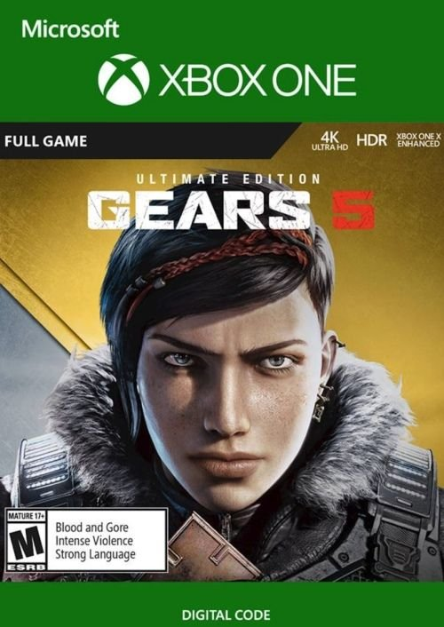 Gears 5 - Ultimate Edition (Xbox One, Play Anywhere) für 21,79€ (Download Code)