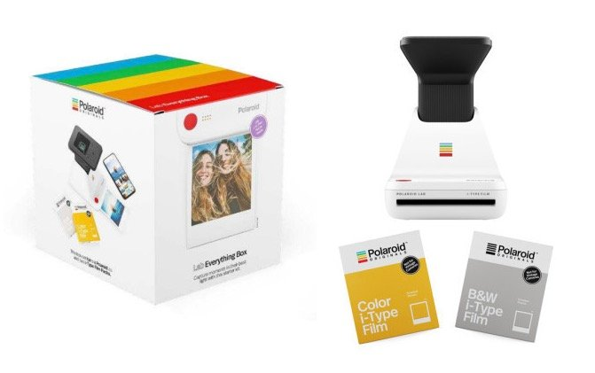 Polaroid Everything Box Lab Sofortbilddrucker vom Smartphone für 89,99€ (statt 115€)