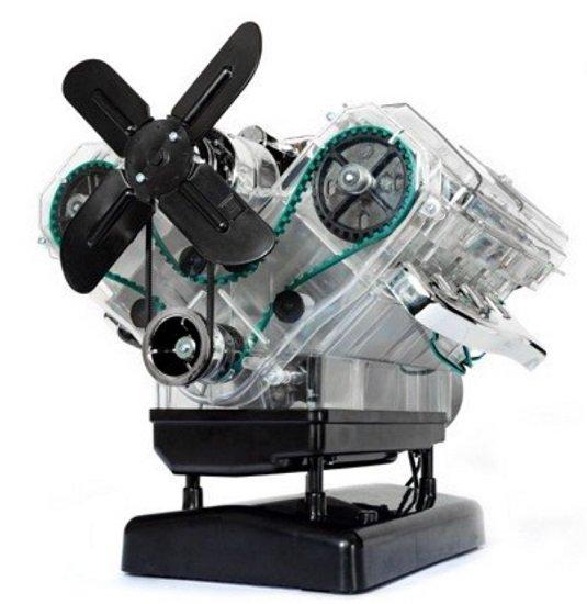 Franzis Lernpaket: V8-Motor (250 Bauteile + Handbuch & Soundmodul) für 50,96€ inkl. Versand (statt 85€)