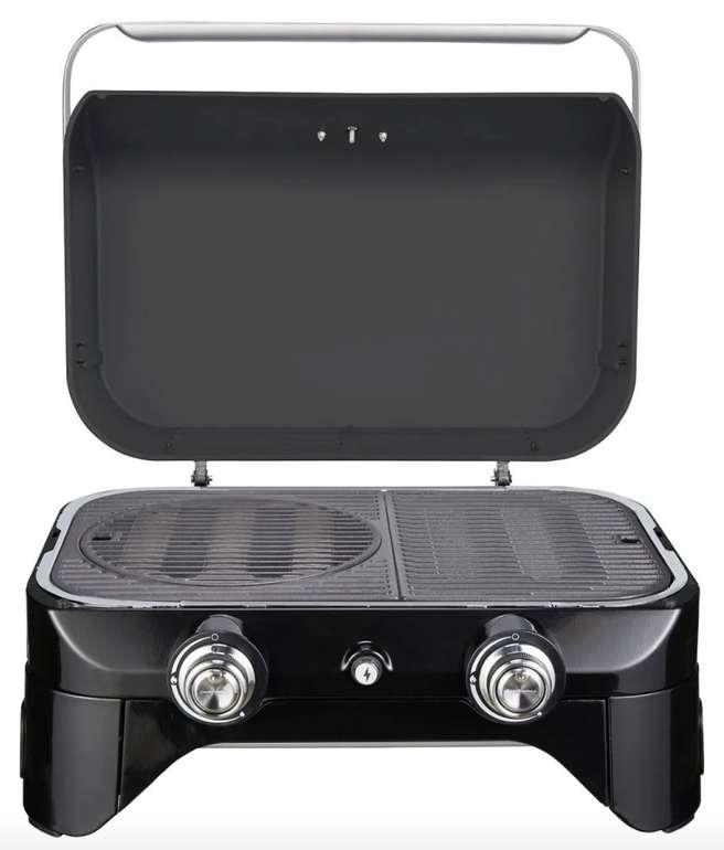 Campingaz Attitude 2100 LX Gasgrill (tragbarer Tischgrill, 2 Stahlbrenner, 5 kW Leistung) für 269,89€ (statt 289€)
