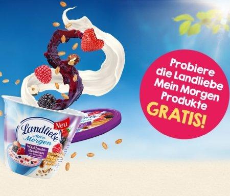 """Landliebe """"Mein Morgen"""" Produkte gratis testen dank Geld-zurück-Garantie"""