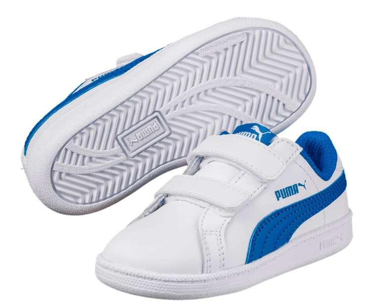 Smash Leder V PS Kinder Sneaker in 3 verschiedenen Farben ab 20,43€ inkl. Versand (statt 30€)