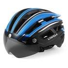 Lixada Mountainbike Helm mit abnehmbaren Magnetvisier für 16,49€