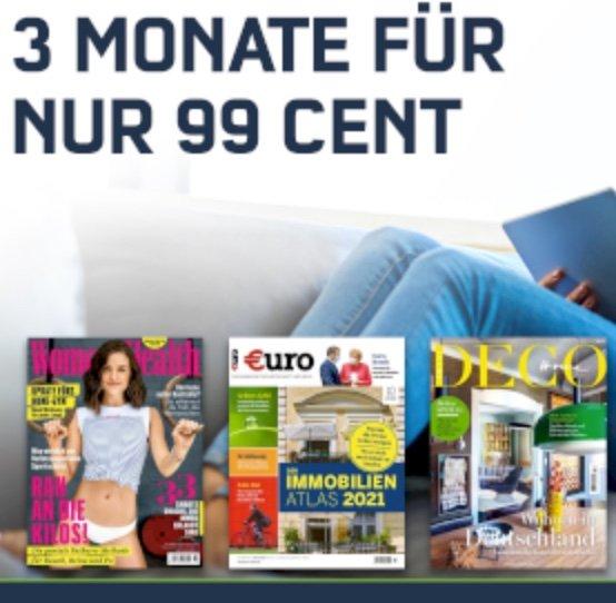 Letzte Chance: 3 Monate Readly Magazin-Flat für einmalig 0,99€ + GRATIS 5€ Amazon Gutschein!