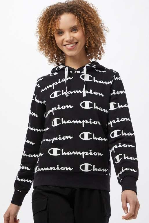 Champion Authentic Athletic Apparel Sweatshirt in schwarz / weiß für 29,90€ inkl. Versand (statt 39€)