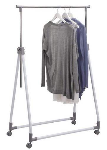 Klappbarer Kleiderständer mit 4 Rollen für 13,95€ inkl. Versand