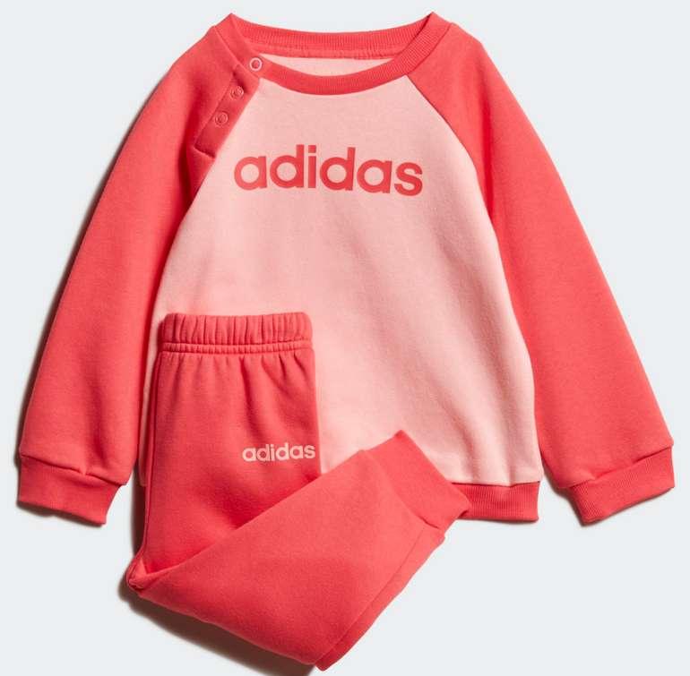 adidas Linear Fleece Kinder Jogginganzug für 15,27€ inkl. Versand (statt 30€) - Creators Club!