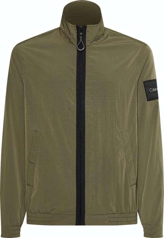 Calvin Klein Jacke Crinkle Nylon Easy Blouson in versch. Farben für 89,99€ inkl. Versand (statt 120€)